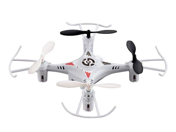 MINI CUADRICÓPTERO DRON EMISOR 4 CANALES DE 2.4 GHZ