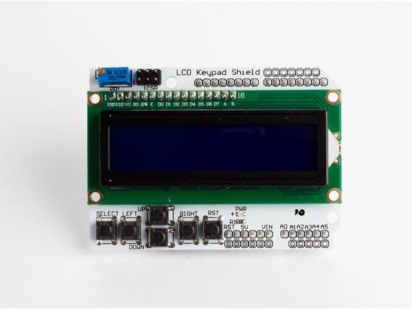 LCD Y TECLADO PARA ARDUINO LCD1602