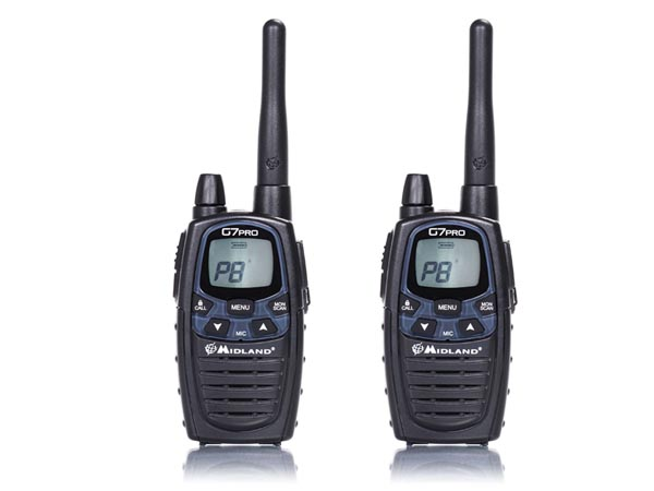 MIDLAND BLISTER CON DOS WALKIE TALKIES PROFESIONALES