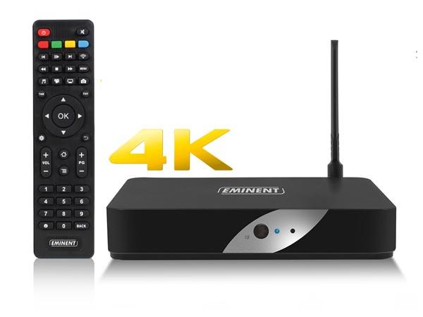 TRANSMISOR TELEVISIÓN 4K TV STREAMER EMINENT HDMI