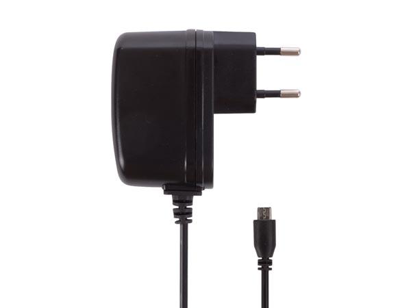 CARGADOR COMPACTO CON CONEXIÓN MICRO USB 2.5A