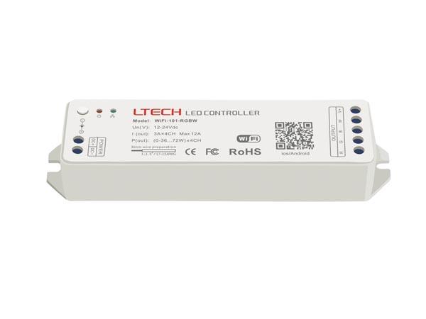 CONTROLADOR WIFI PARA LED RGBW