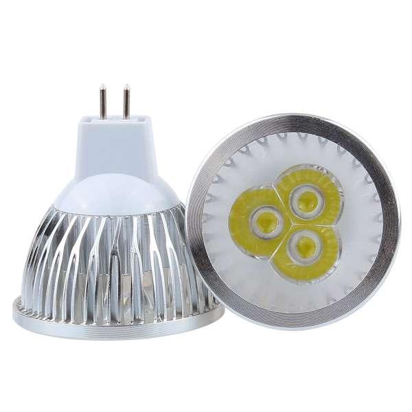 BOMBILLA LED SMD MR16 12W BLANCO FRIO 6300-7000K 220V