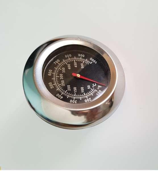 TERMóMETRO HORNO ACERO INOXIDABLE METAL 500Cº