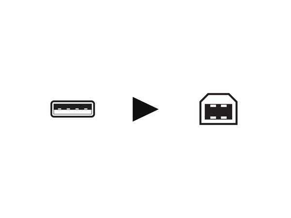 CABLE USB IMPRESORA 5 METROS MACHO A MACHO B