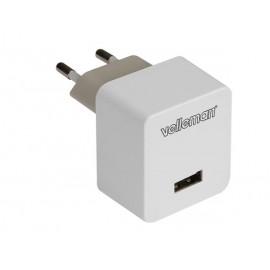 CARGADOR COMPACTO USB 5V 1A