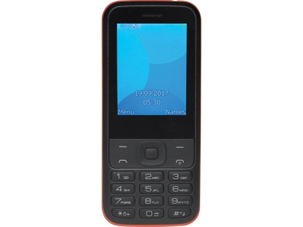 FAS-24100M TELÉFONO MÓVIL CON PANTALLA 2.44 Y DOBLE SIM