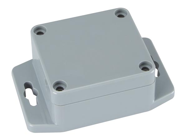 CAJA ABS SELLADA CON BRIDA DE MONTAJE 64X58X35MM