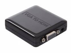 CONVERTIDOR VGA+ AUDIO A HDMI
