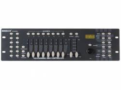 CONTROLADOR DMX DE 192 CANALES CON PALANCA DE CONTROL