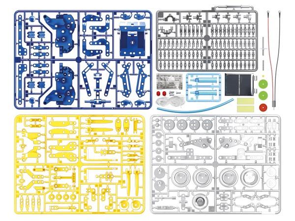 KIT DE CONSTRUCCIÓN 12 EN 1 FUNCIONA CON ENERGÍA SOLAR ROBOT