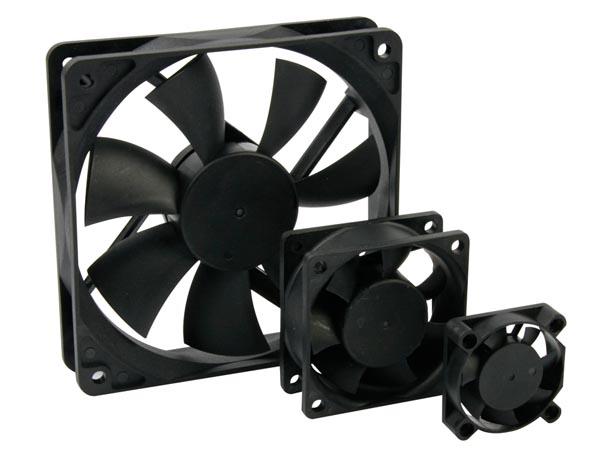 VENTILADOR 12VDC COJINETE LISO 120 X 120 X 25MM