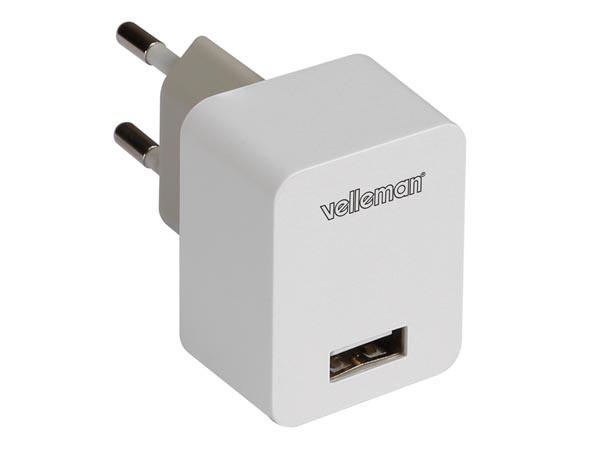 CARGADOR ALIMENTADOR USB 5V 1A