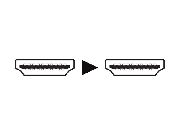 CABLE HDMI 2.0 ALTA VELOCIDAD CONECTOR MACHO A MACHO COBRE DORADOS