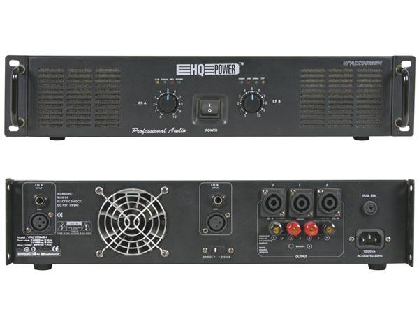 AMPLIFICADOR DE POTENCIA MOSFET 500 WRMS 19