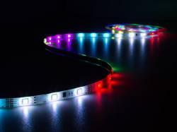 JUEGO CON CINTA CONTROLADOR, ADAPTADOR RED ANIMADO RGB 150 LEDS