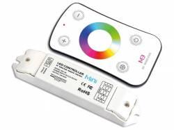 CONTROLADOR LED RGB CON MANDO A DISTANCIA RF