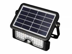 APLIQUE SOLAR LED DETECTOR MOVIMIENTO 5W MULTIFUNCIÓN 500LM