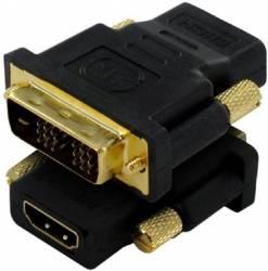 CONECTOR ADAPTADOR DVI-D 18+1 MACHO A HDMI HEMBRA V227