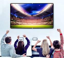PANTALLA PROYECTOR 130 PULGADAS 16:9 PLEGABLE 3D HD 4K PARA CASA Y OFICINA