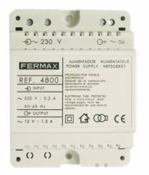 ALIMENTADOR FERMAX 12V AC 1.5A DIN4 4800