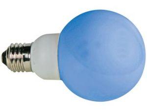 BOMBILLA LED AZUL E27 220V 20 LEDS