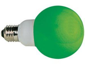 BOMBILLA LED VERDE E27 230VCA 20 LEDS