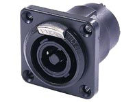 NEUTRIK - CONECTOR SPEAKON, HEMBRA - IP54 - COLOR NEGRO