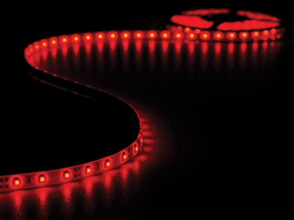 CINTA 300 LEDS FLEXIBLE ROJO 5 METROS