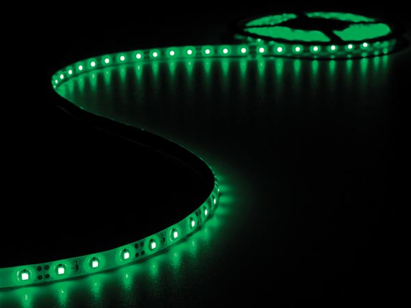 CINTA 300 LEDS FLEXIBLE VERDE 5 METROS