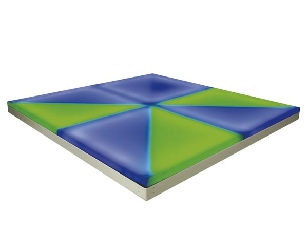 PISTA DE BAILE CON LEDS RGB 8 SECCIONES 1M²