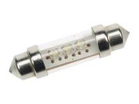 2 LÁMPARAS LED DE COCHE 12V 3 LEDs BLANCOS
