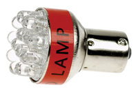LÁMPARA LEDS COCHE 12V S25 LUZ BLANCA