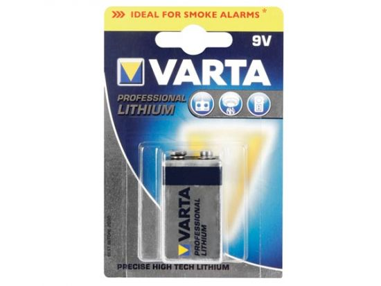 E-BLOCK LITIO DE 9V PROFESSIONAL VARTA
