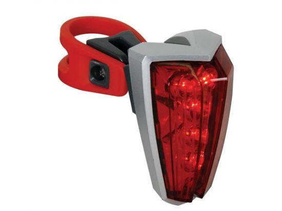 LUZ TRASERA DE BICICLETA - 5 LEDs ROJOS
