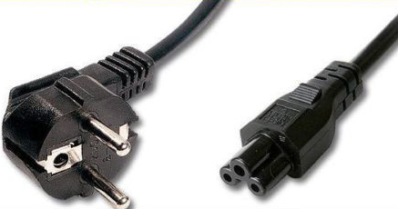 CABLE ALIMENTACION RED PORTATIL NOTEBOOK AC 3 PIN 220V