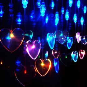 Cristal 2mx0.65m 29 leds Amor