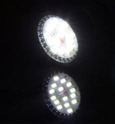 BOMBILLA GU10 15 SMD 5730 LED 6W 350LM 220V LUZ BLANCA