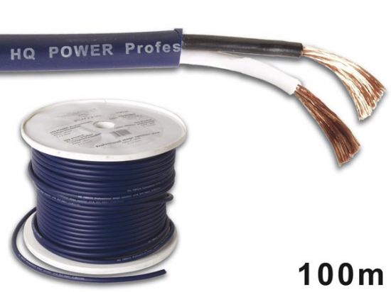 CABLE ALTAVOZ PROFESIONAL 2x2.50mm² AZUL