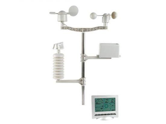 ESTACIÓN METEOROLÓGICA CON TRANSMISOR SOLAR INTERFAZ PC USB