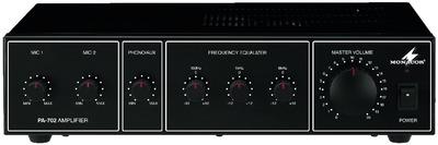 Amplificador mezclador para megafonía