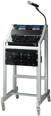 Rack para aparatos DJ estándar rack 19 (482 mm)