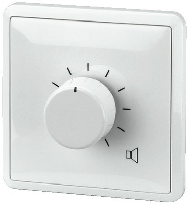 Atenuadores para sonorización de megafonía, relé 24 V con anuncio forzado