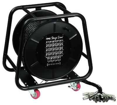 Cable XLR  con tambor