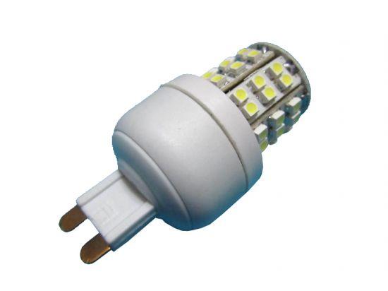 BOMBILLA 48 LED SMD G9 3W 210L LUZ BLANCA