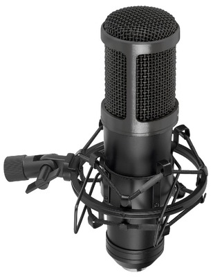 Micrófono condensador de gran diafragma