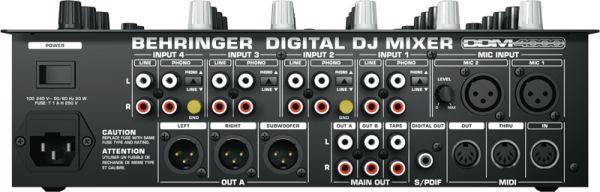BEHRINGER MESA DJ DIGITAL PRO DDM4000