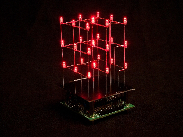 CUBO LED 3D 27 LEDS