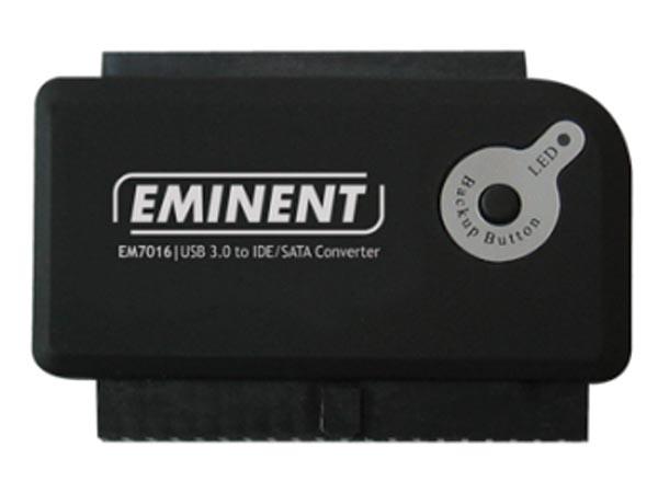 USB 3.0 TO IDE SATA CONVERTER CON BOTÓN COPIA DE SEGURIDAD