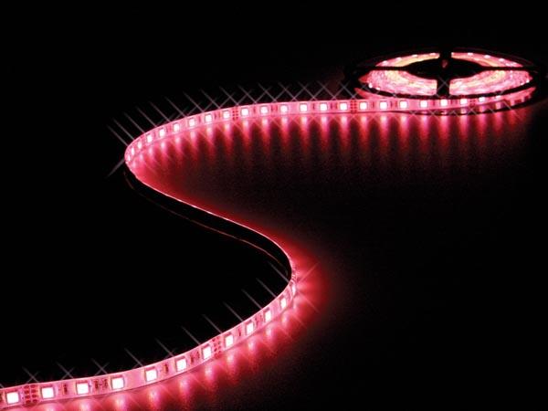 CINTA 300 LEDS FLEXIBLE RGB 5METROS 24V